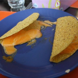 Eve apple's were great - but you learned to love her Tacos...