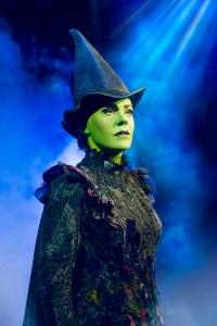 Turn green for halloween: Image courtesy of wickedthemusical.co.uk