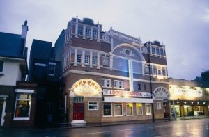 The Palace Theatre, Westcliff - a fly-man fell to his death during the theatre's construction