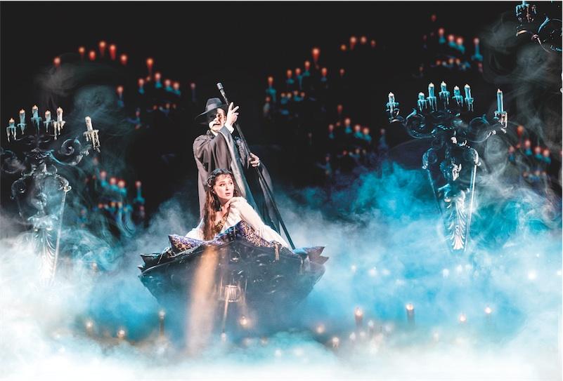 Production still from Phantom of the Opera London