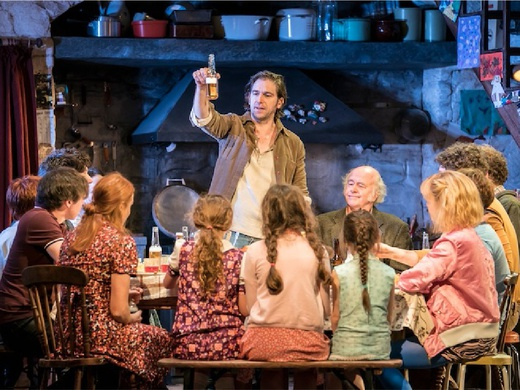 Production shot from 'The Ferryman' London