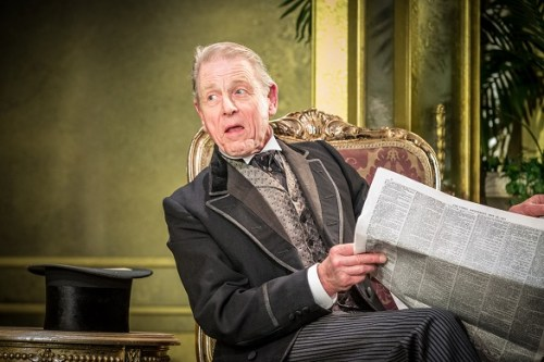 Edward Fox in Oscar Wilde's An Ideal Husband at the Vaudeville Theatre