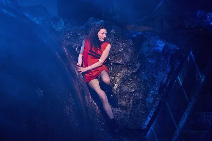Christina Bennington in Bat Out of Hell London