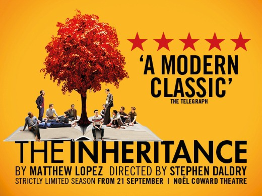 The Inheritance banner London