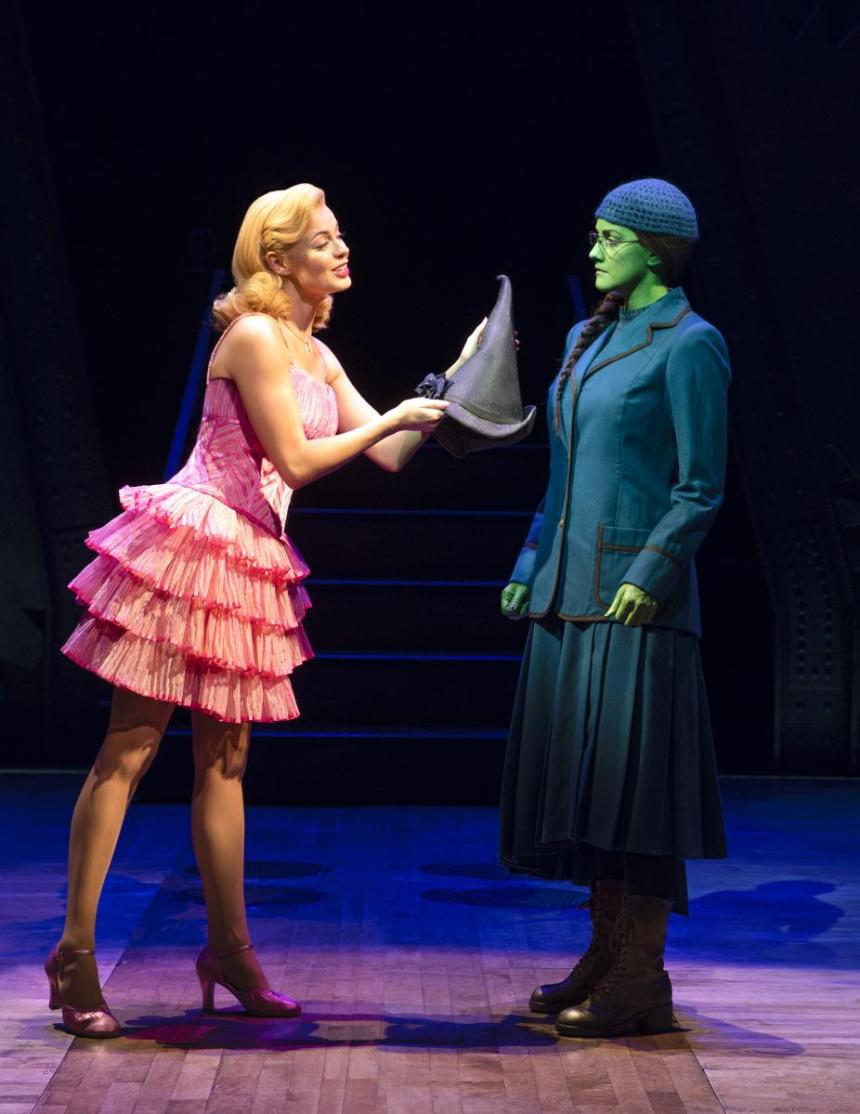 Alice Fearn and Sophie Evans in Wicked London
