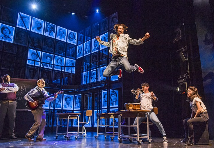 Production shot from Fame the Musical