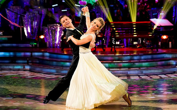 Rachel Riley in Strictly Come Dancing