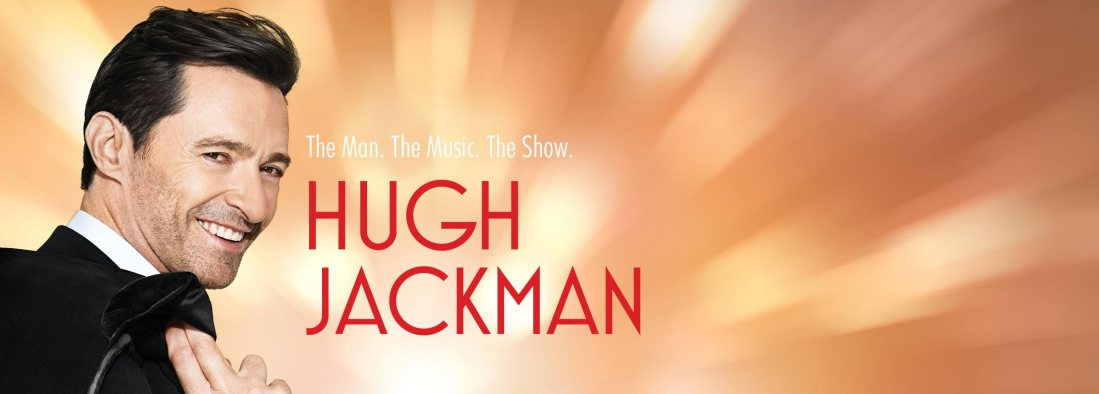 Hugh Jackman show banner