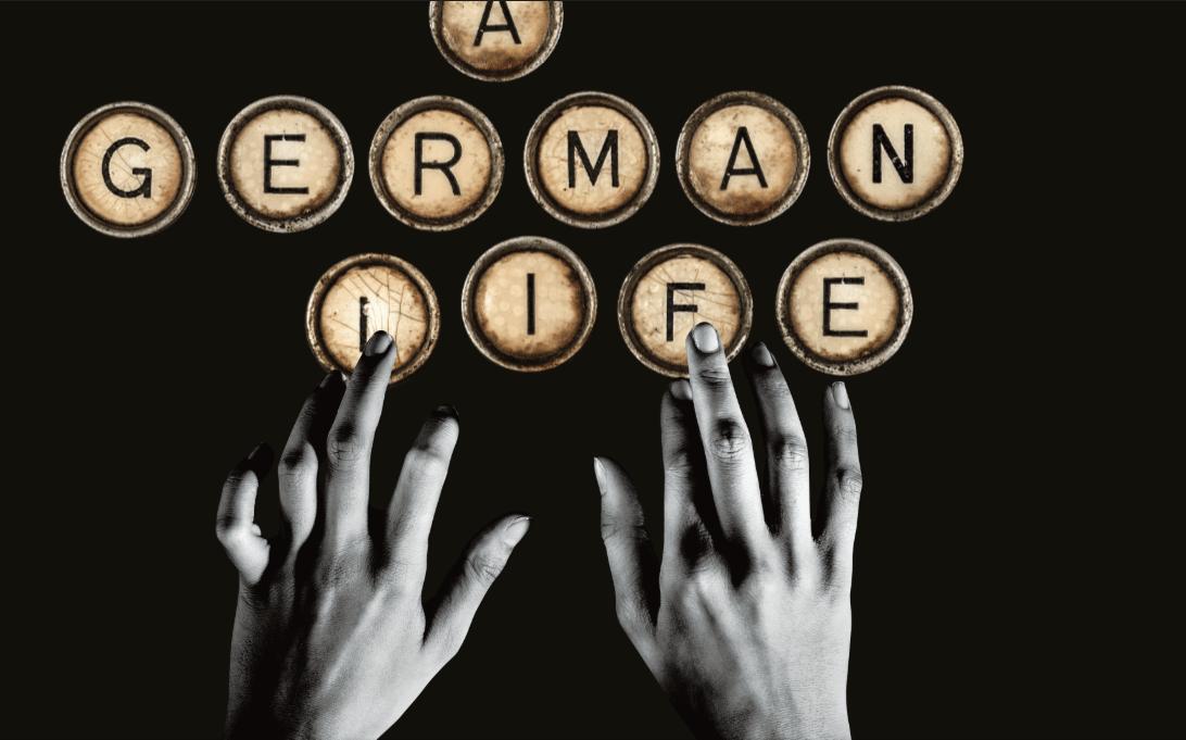 A German Life banner