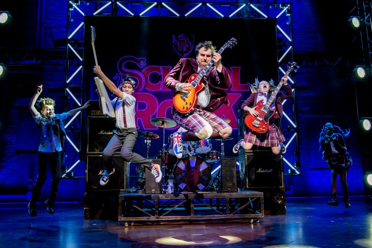 Production still from School of Rock musical London