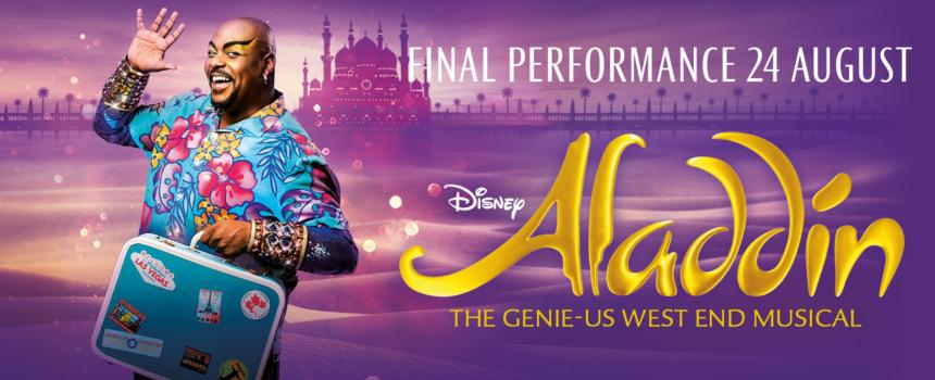 Aladdin London promo image