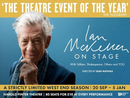 Ian McKellen London promo image