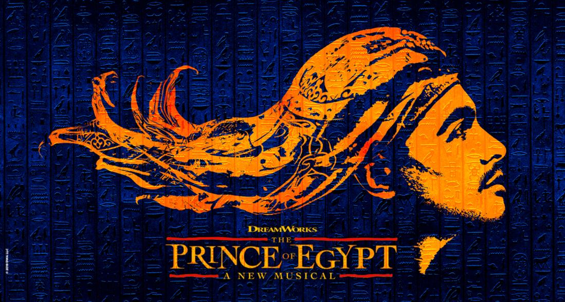 Prince of Egypt musical banner
