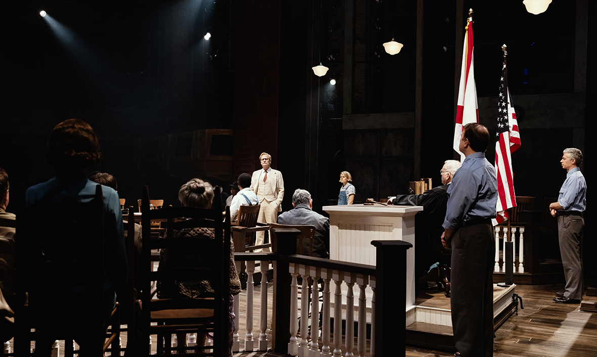 Production still from To Kill a Mockingbird Broadway