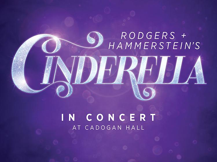 Cinderella concert Cadogan Hall banner image