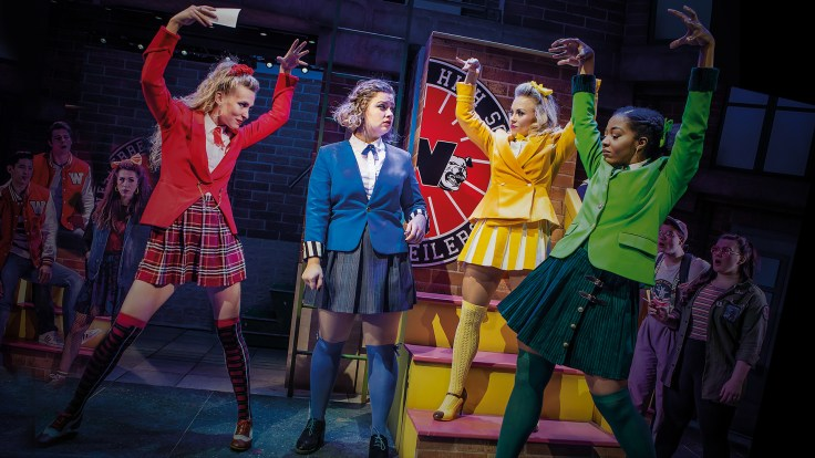 production still from Heathers London