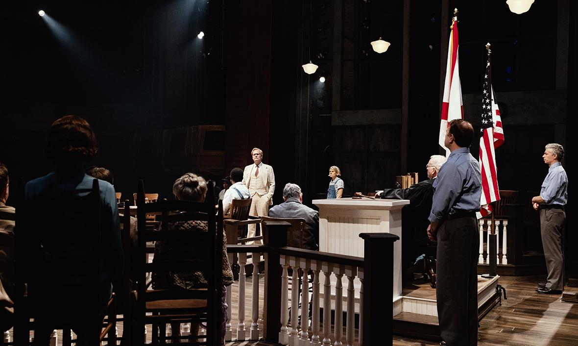 Production still from To Kill a Mockingbird Broadway