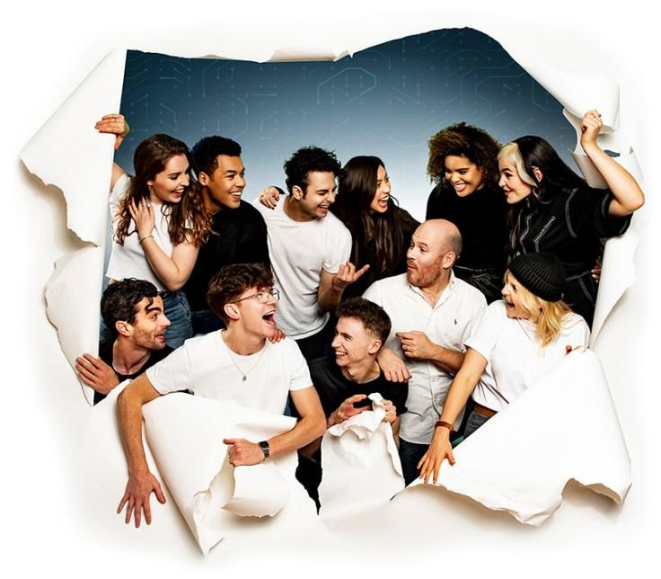 Be More Chill cast photo