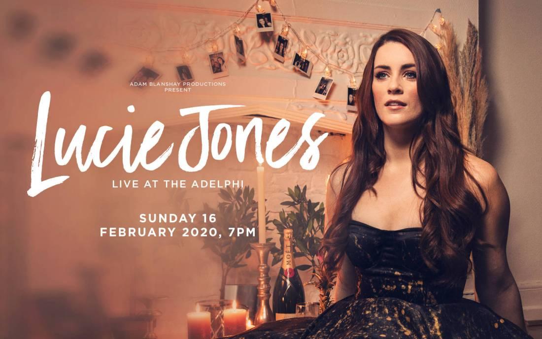 Lucie Jones concert poster