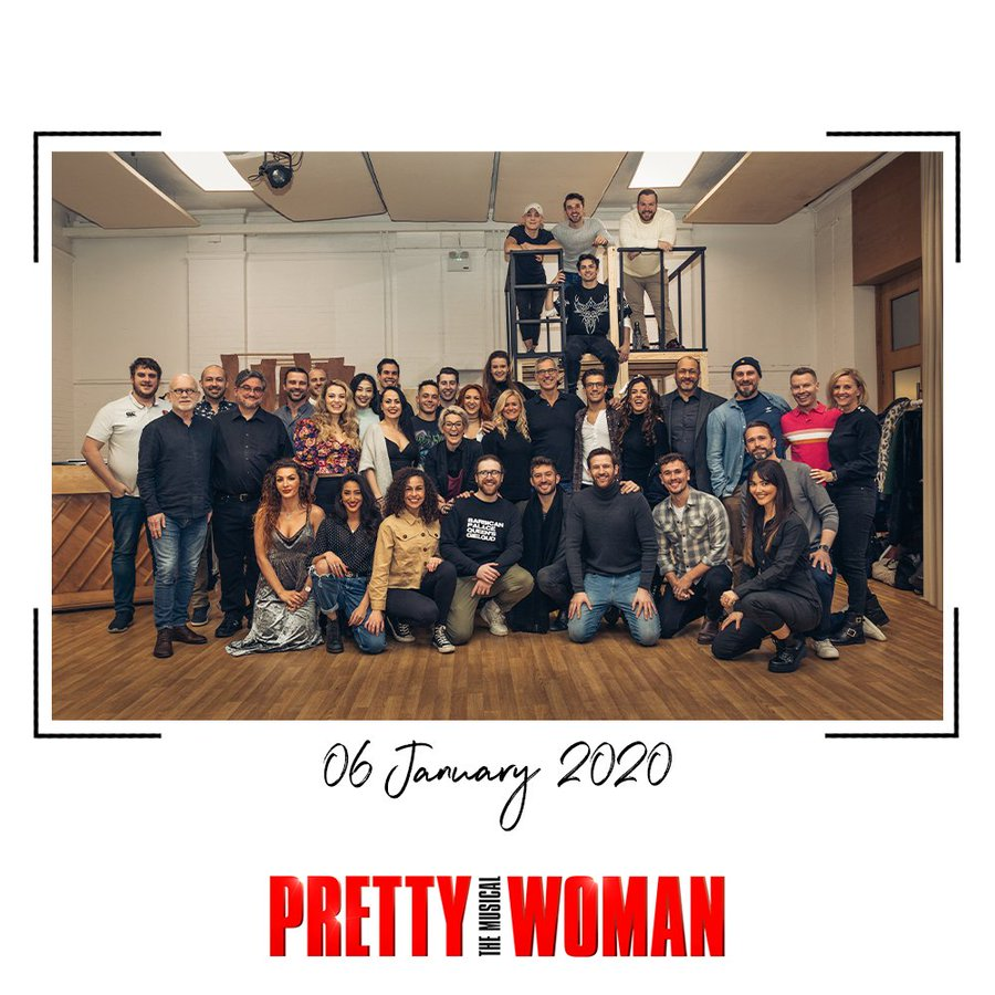 photo of Pretty Woman London cast