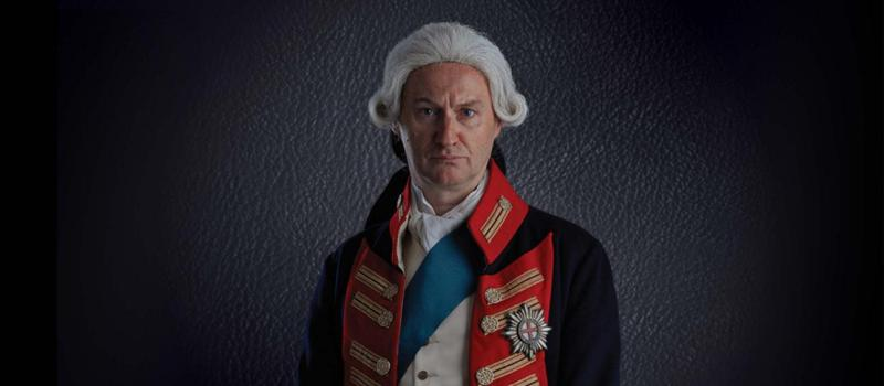 Mark Gatiss as King George III