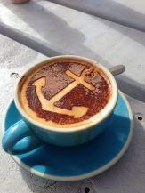 Nautical themed coffee :)