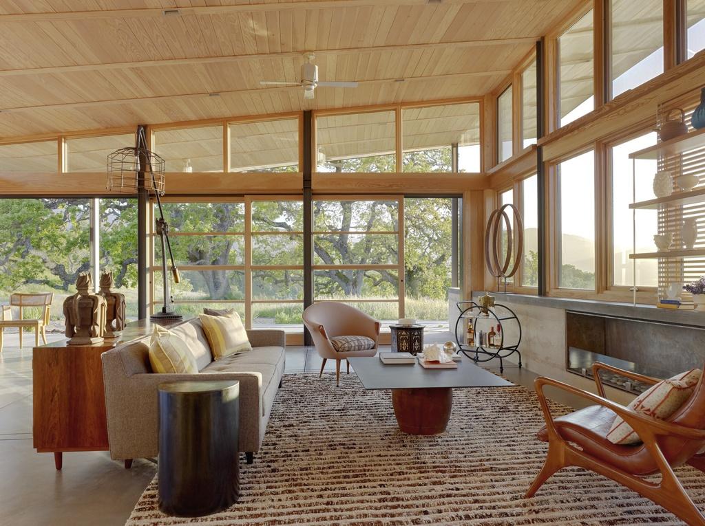 Etonnant Mid Century Modern Living Room