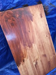 Stain Table Top