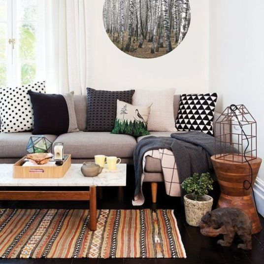 Living Room Decorating Ideas - Plant Decor