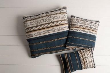 Holston Ivory Mocha Pillow