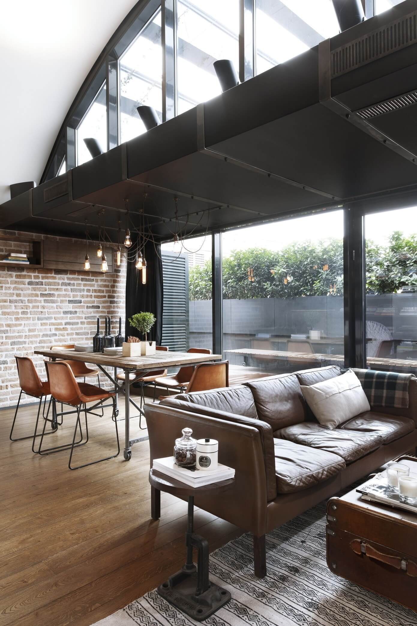 Ideal Industrial Living Room & Industrial Decor Ideas \u0026 Design Guide - Lazy Loft - Blog by FROY