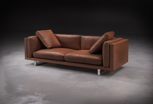 Fulcrum Leather Sofa