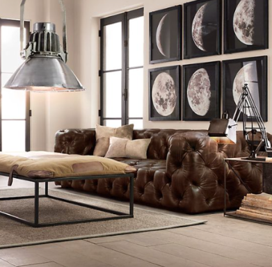 Industrial Couch