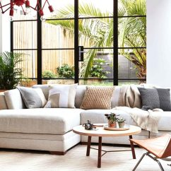 Your Living Room Beachy Rooms 5 Couch Styles For From Boho To Industrial
