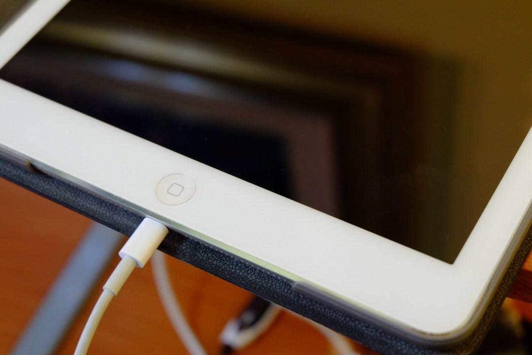 iPad won't charge