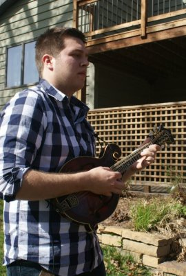 Shane Zack on mandolin