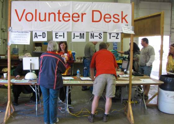 Over 1000 volunteers work to make the sale happen each year.