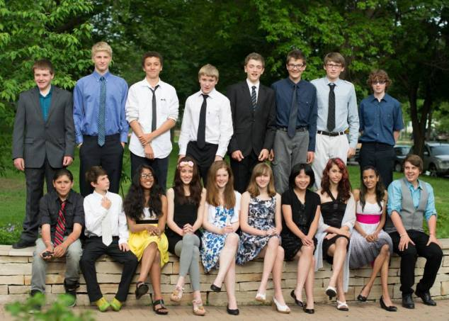 Class of 2013 group