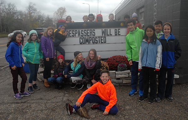 Composting: 6th Grade Community Service