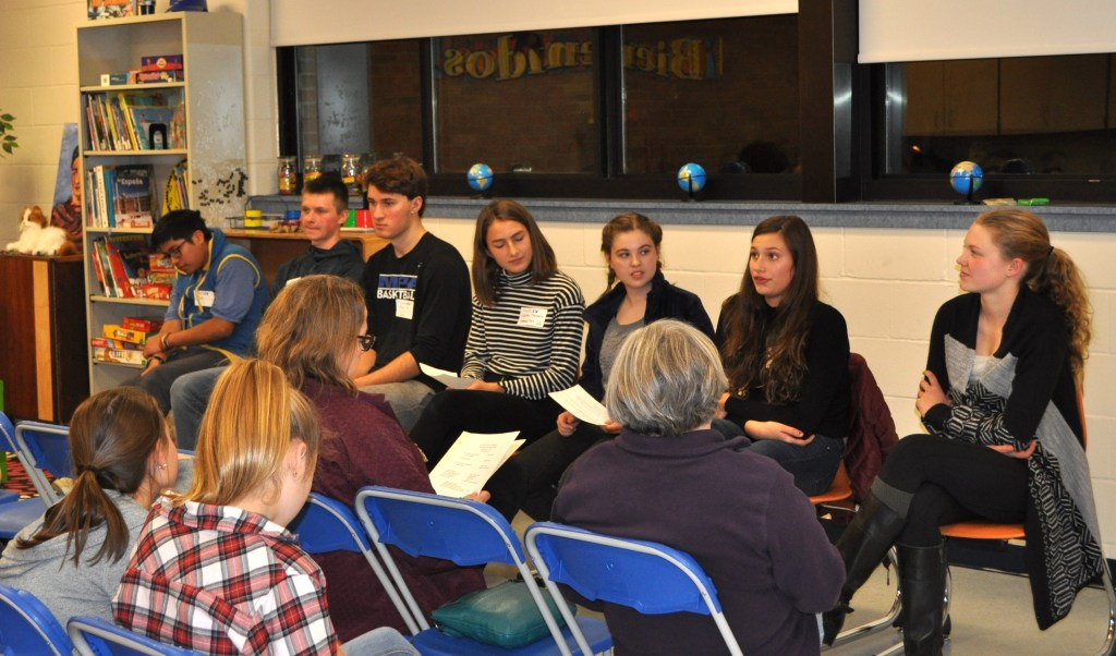 FSM alumni from a variety of public and independent schools came to share their advice about choosing a high school.