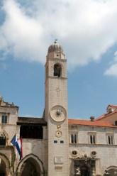 Dubrovnik clock tower