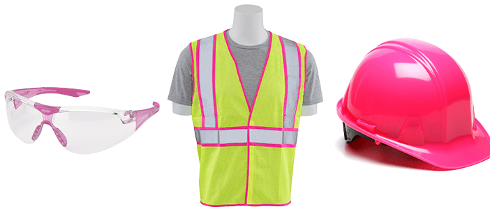 Pink Safety Gear