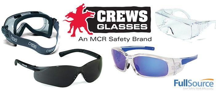 Crews Safety Glasses/Goggles