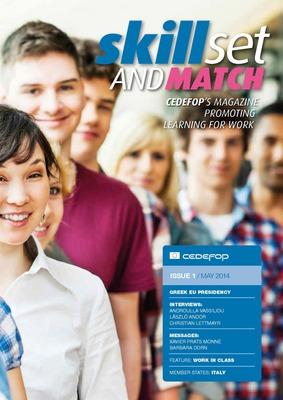Portada de la revista Skillset and match