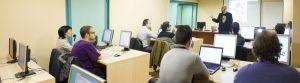 Aula de formación para trabajadores