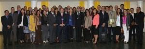 Participantes en el II Encuentro de la Red de certificación de competencias