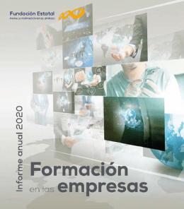 Formación en las empresas. Informe anual 2020