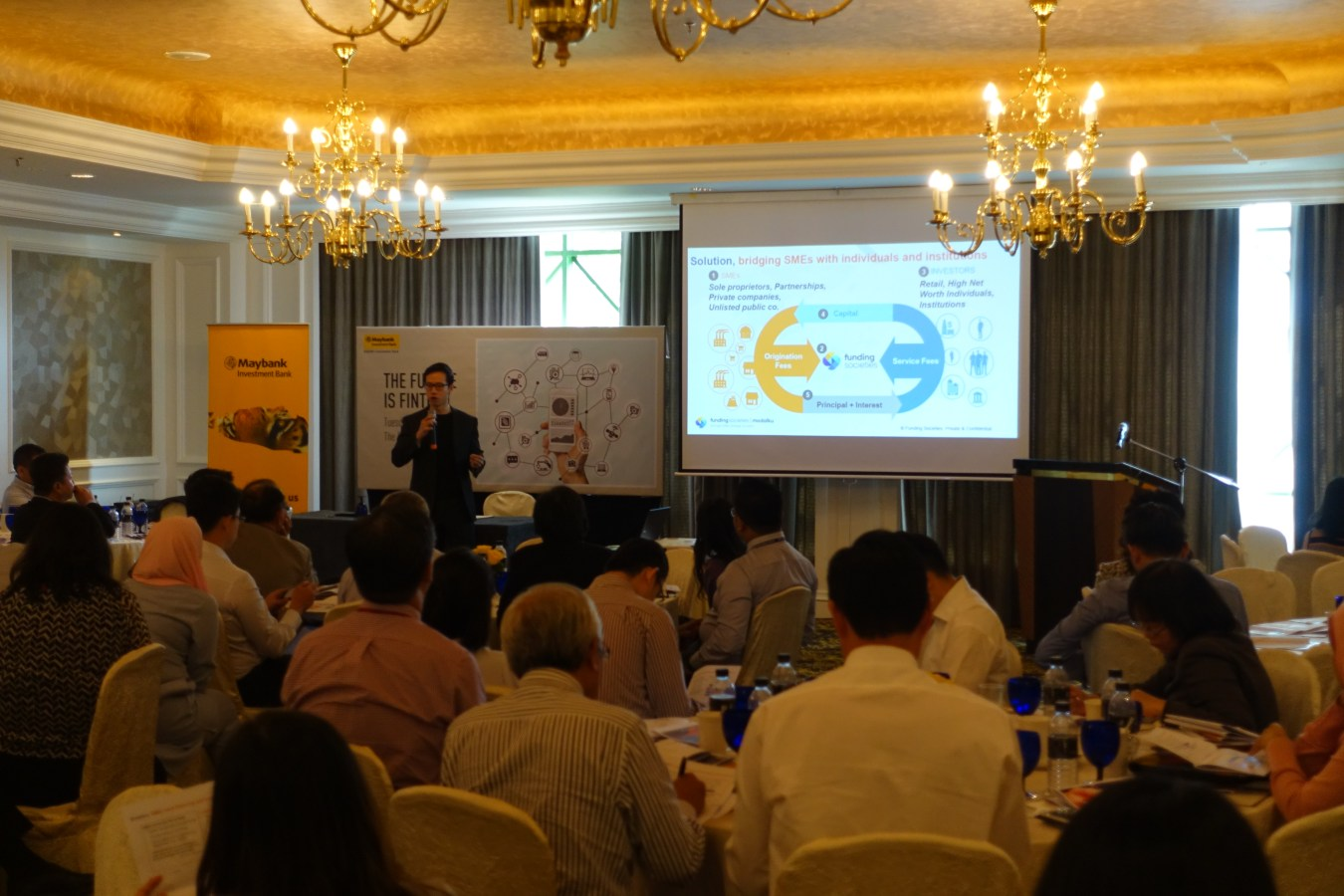 "Funding Societies Malaysia at Maybank's ""The Future is Fintech"" Event"