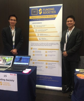 Kelvin Teo and Reynold Wijaya, Founders of Funding Societies