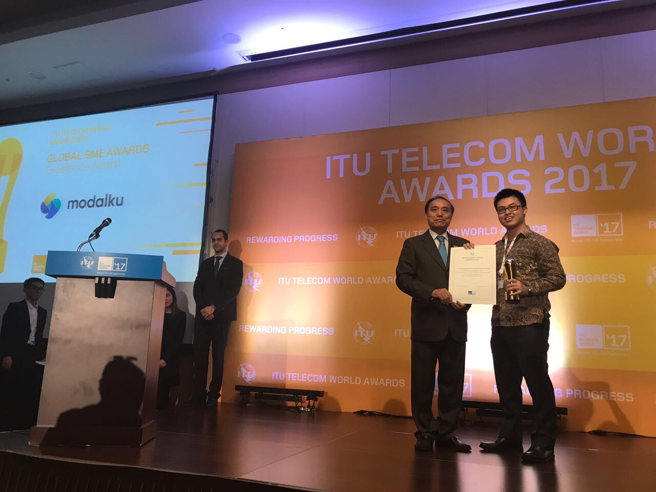 Funding Societies (Modalku) Is the First Southeast Asian Company to Win the Global SME Excellence Award from United Nations' ITU Telecom